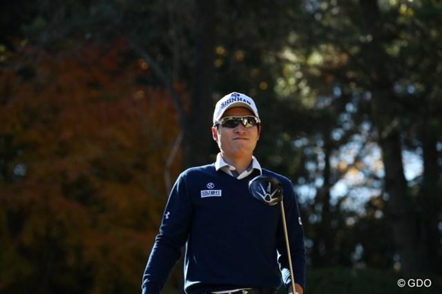 2016年 ゴルフ日本シリーズJTカップ 2日目 キム・キョンテ 2年連続の賞金王争いから脱落したキム・キョンテだが、他にも譲れないタイトルがある