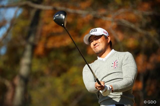 2016年 ゴルフ日本シリーズJTカップ 3日目 小平智 最年少メジャー3勝目に王手の小平智。最終日は逃げ切りを図る
