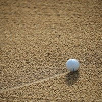 朝イチのショットはバンにゅう。 2016年 ゴルフ日本シリーズJTカップ 最終日 今平周吾