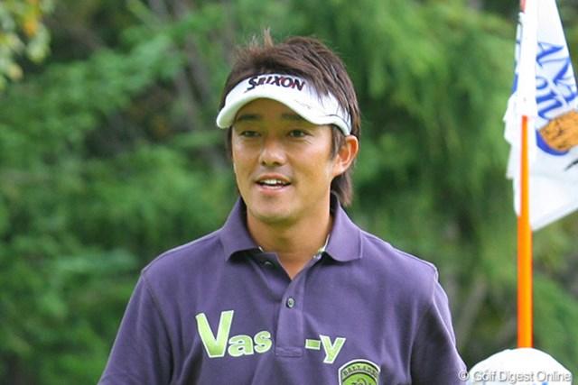 山下和宏 「明日は谷口さんと最終組か、いじめられないかな!?」2位タイに浮上した山下和宏