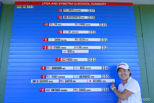 来年から米国で戦う畑岡は世界ランク141位