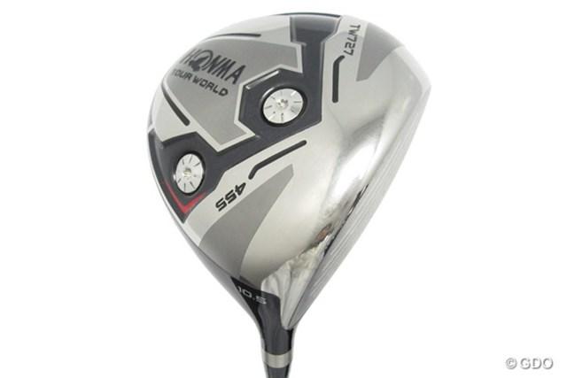 本間ゴルフ TW727 455 ドライバー 中古クラブ (画像) TW727ドライバーだが、ボールをつかまえたい人は455、つかまりを抑えたい人は455Sを試して欲しい
