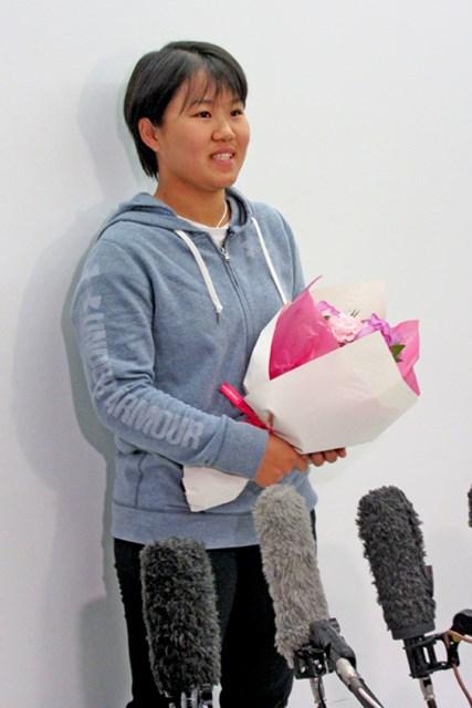 来季米ツアー出場権を手に帰国した畑岡奈紗。17歳の新たな挑戦が始まる