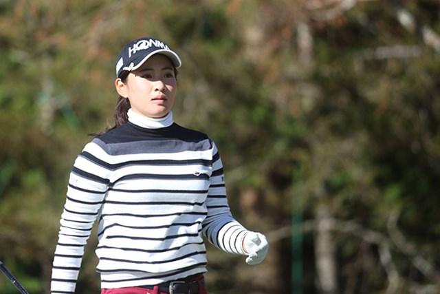 2016年 LPGA新人戦 加賀電子カップ 初日 永井花奈 永井花奈は首位と4打差の4位発進。最終日の逆転を誓った