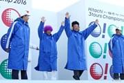2016年 Hitachi 3Tours Championship 最終日 倉本昌弘