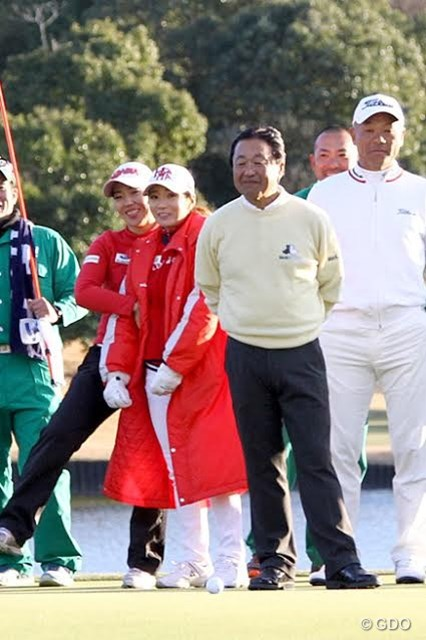 急きょ出場の倉本昌弘。ゴルフ界でも「代打、オレ」が実現した