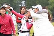 2016年 LPGAツアー選手権リコーカップ 最終日 キム・ハヌル イ・ボミ