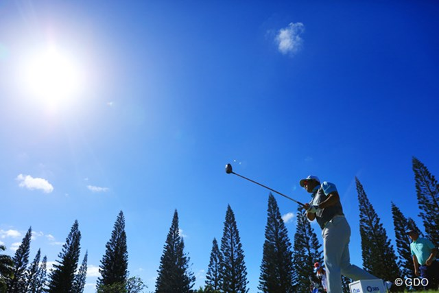 ハワイは変則で3日目でもスタートは早い。