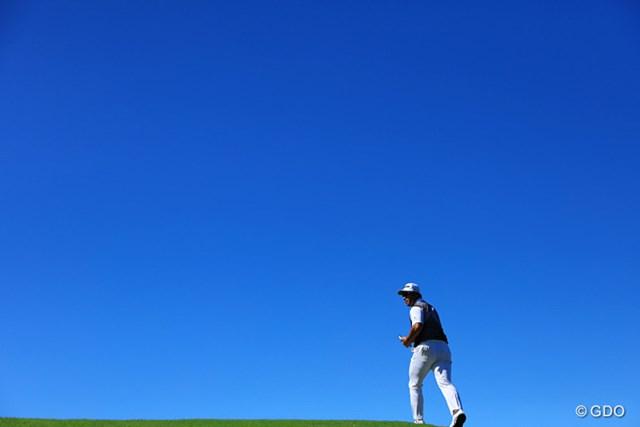 前半に5打差をつけられたが、ゴルフは何が起きるかわからない