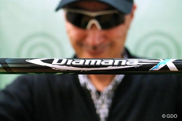シャフトの究極を求めるゴルファーをターゲットにした『三菱レイヨン ディアマナX '17』をマーク金井が徹底検証