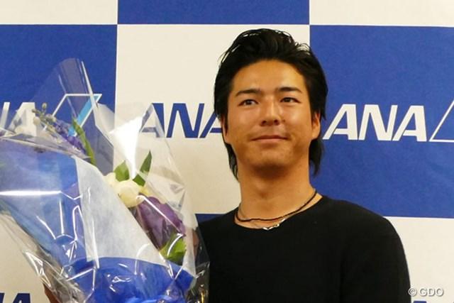 2017年の戦いに向け、石川遼は全日空機で渡米した