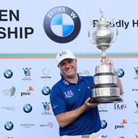 ツアー2勝目を挙げたグレーム・ストーム(David Cannon/Getty Images) 2017年 BMW南アフリカオープン 最終日 グレーム・ストーム