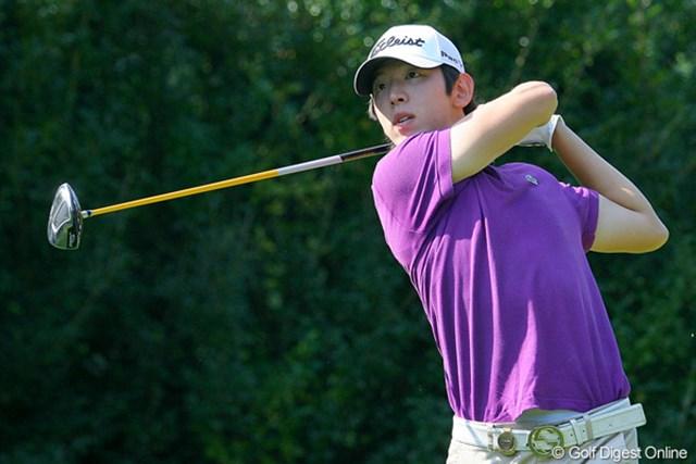 18歳の韓国人プロ、ノ・スンヨルは1打差の3位タイ。16歳でプロ転向を果たすなど、石川遼と共通点は多い