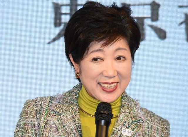 発言が注目を集める小池百合子東京都知事。霞ヶ関CCの行く末はいかに…(Jun Sato/WireImage)