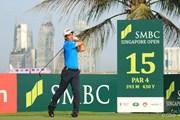 2017年 SMBCシンガポールオープン 初日 リャン・ウェンチョン
