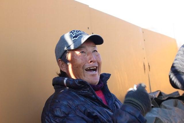 70歳の誕生日を迎えた尾崎将司。「今、ゴルフに対する明るさがある」と表情は明るい