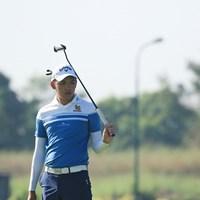 タイの17歳、パタラ・コンワットマイ。予選ラウンドは小平智と同組 2017年 レオパレス21ミャンマーオープン 2日目 パチャラ・コンワットマイ