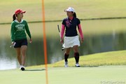 2009年 ミヤギテレビ杯ダンロップ女子オープンゴルフトーナメント 初日 上田桃子&有村智恵