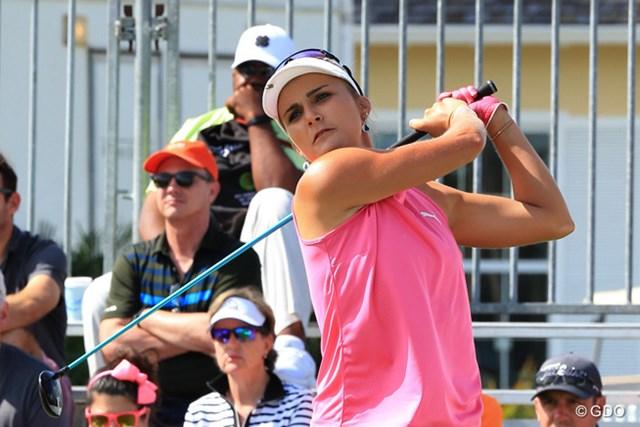 ステーシー・ルイスと並び首位タイにたったレキシー・トンプソン