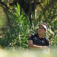 カルロス・ピゲムは首位に3打差の2位フィニッシュ 2017年 レオパレス21ミャンマーオープン 最終日 カルロス・ピゲム