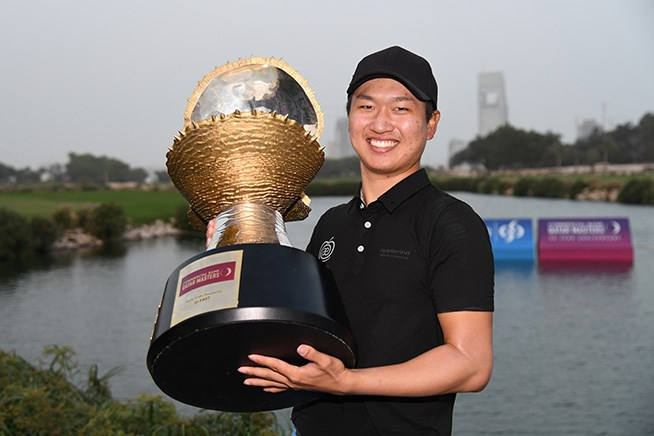 韓国のワン・ジョンフンが3勝目 3つどもえのプレーオフ制す