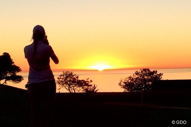 サンディエゴの夕焼け