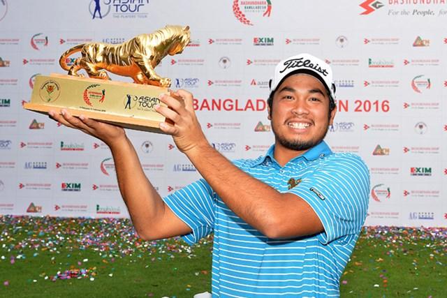 昨年大会で優勝したティティプン・チュアヤプラコン(Khalid Redza/Getty Images)