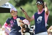 2009年 ミヤギテレビ杯ダンロップ女子オープンゴルフトーナメント 初日 有村智恵
