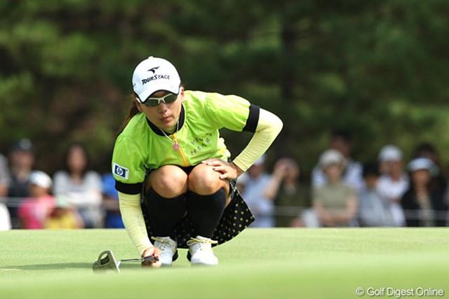 「絶対に勝ちたい!」最終日を前に心境を打ち明けた有村智恵