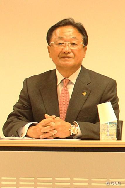コース問題の早期解決を願っていた倉本昌弘・五輪ゴルフ競技対策本部強化委員長