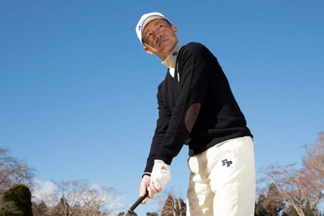 「練習場と違い、本番で信用できるのはボールとの距離感」という田村