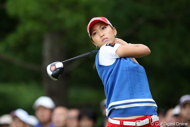 上田桃子 攻めのゴルフが裏目となり逆転優勝を逃した上田桃子