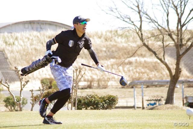 2回目のスピードゴルフ挑戦となった鶴見さんの成績は・・・