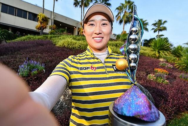 2017年 ホンダ LPGAタイランド 最終日 エイミー・ヤン エイミー・ヤンが5打差で圧勝した(Thananuwat Srirasant/Getty Images)