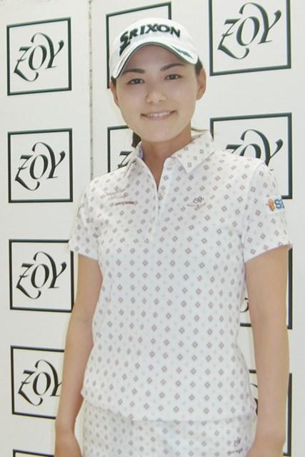 「ZOY」のウェア着用で新シーズンにのぞむ横峯さくら※画像提供:タキヒヨー株式会社