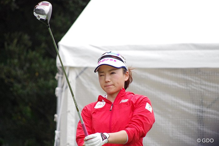 ヤマハと契約した有村智恵は新たな1Wでシーズンイン 2017年 ダイキンオーキッドレディスゴルフトーナメント 事前 有村智恵
