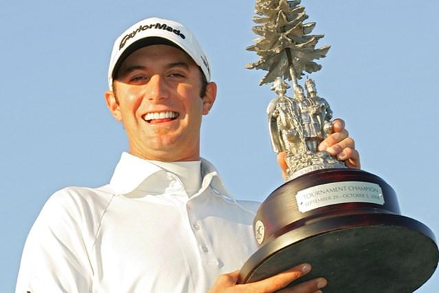 2009年 ターニングストーン・リゾート選手権 事前 ダスティン・ジョンソン 昨年大会はD.ジョンソンが勝利。大会2連覇を飾ることができるか(Michael Cohen /Getty Images)