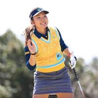 惜しい初日だったけど良いゴルフしてたんじゃないのかな 2017年 ヨコハマタイヤゴルフトーナメント PRGRレディスカップ 初日 小林咲里奈