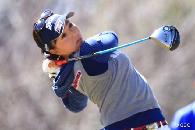 2017年 ヨコハマタイヤゴルフトーナメント PRGRレディスカップ 2日目 青木瀬令奈 通算6アンダー、単独トップで2日目を終えた青木瀬令奈