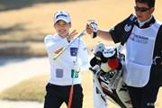 2017年 ヨコハマタイヤゴルフトーナメント PRGRレディスカップ 2日目 藤崎莉歩