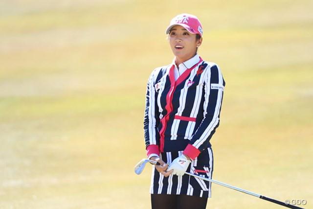 2017年 ヨコハマタイヤゴルフトーナメント PRGRレディスカップ 2日目 イ・ボミ 今日はスコア落としちゃいました