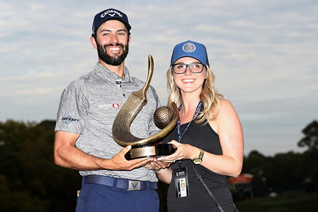 アダム・ハドウィンがツアー初勝利を挙げた(Sam Greenwood/Getty Images)