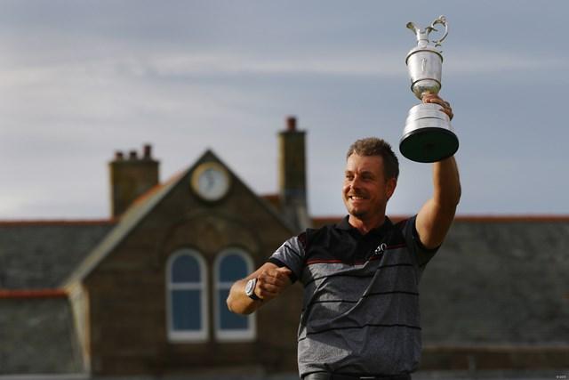「BMW PGA選手権」に全英オープン王者として英国に凱旋するヘンリック・ステンソン