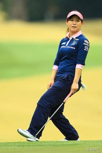 ゴルフが好調のときはアクションも大きくなりますね