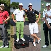 左から: ダニー・ウィレット、ティレル・ハットン、アンディ・サリバンとクリス・ウッド、マシュー・フィッツパトリック、トミー・フリートウッド(Golf World) 2017年 ダニー・ウィレット ティレル・ハットン アンディ・サリバン クリス・ウッド マシュー・フィッツパトリック トミー・フリートウッド