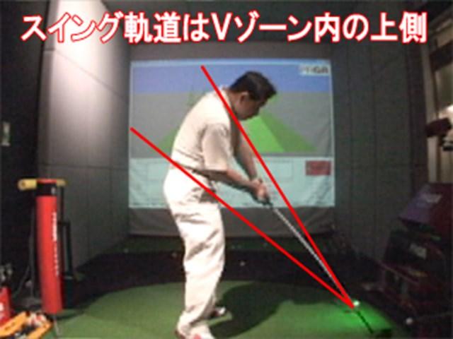 増井さんVゾーン