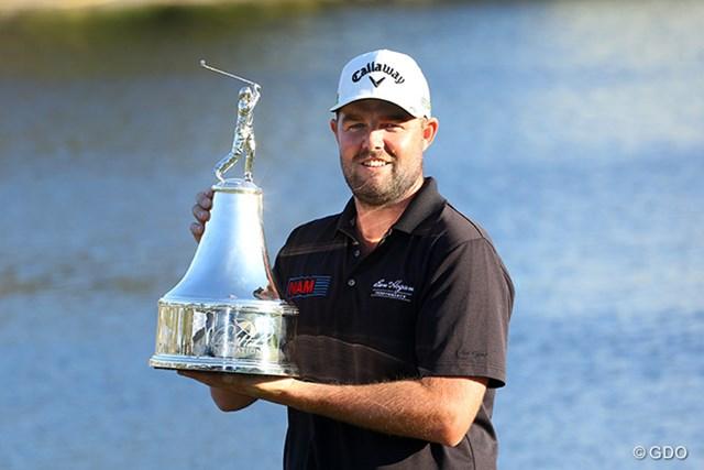 5年ぶり2度目のツアー優勝を遂げたマーク・レイシュマン