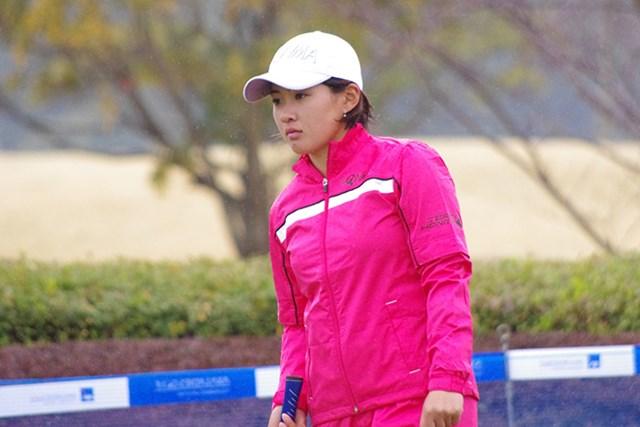 2017年 アクサレディスゴルフトーナメント in MIYAZAKI 事前 永井花奈 永井花奈の願いは「早く単行本で出てほしい」