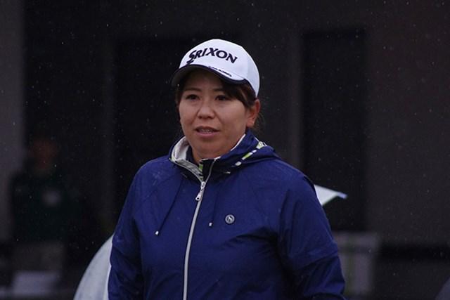 2017年 アクサレディスゴルフトーナメント in MIYAZAKI 事前 吉田弓美子 吉田は「おもしろい」と新しいゴルフ漫画に太鼓判を押した