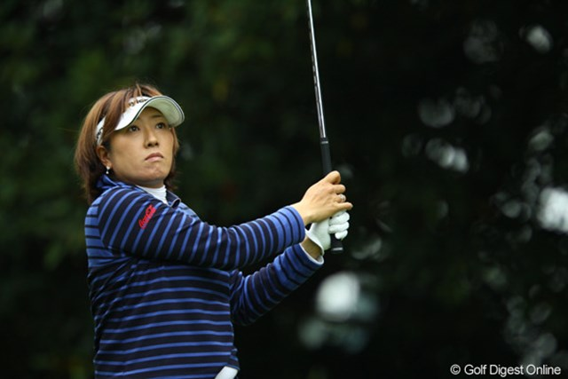 2009年 日本女子オープン 初日 福嶋晃子 短いラフは飛ばし屋向き。福嶋が勝つ条件は揃っている!?